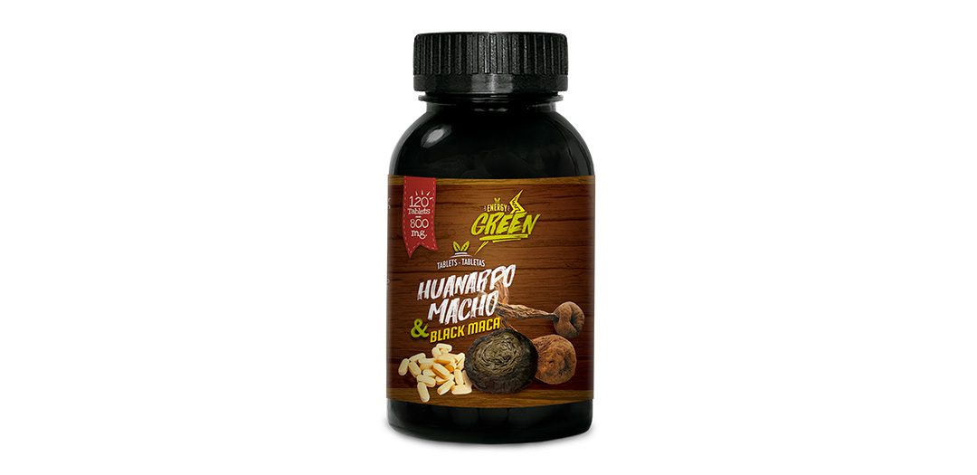 Black Maca and Huanarpo Macho Tablets