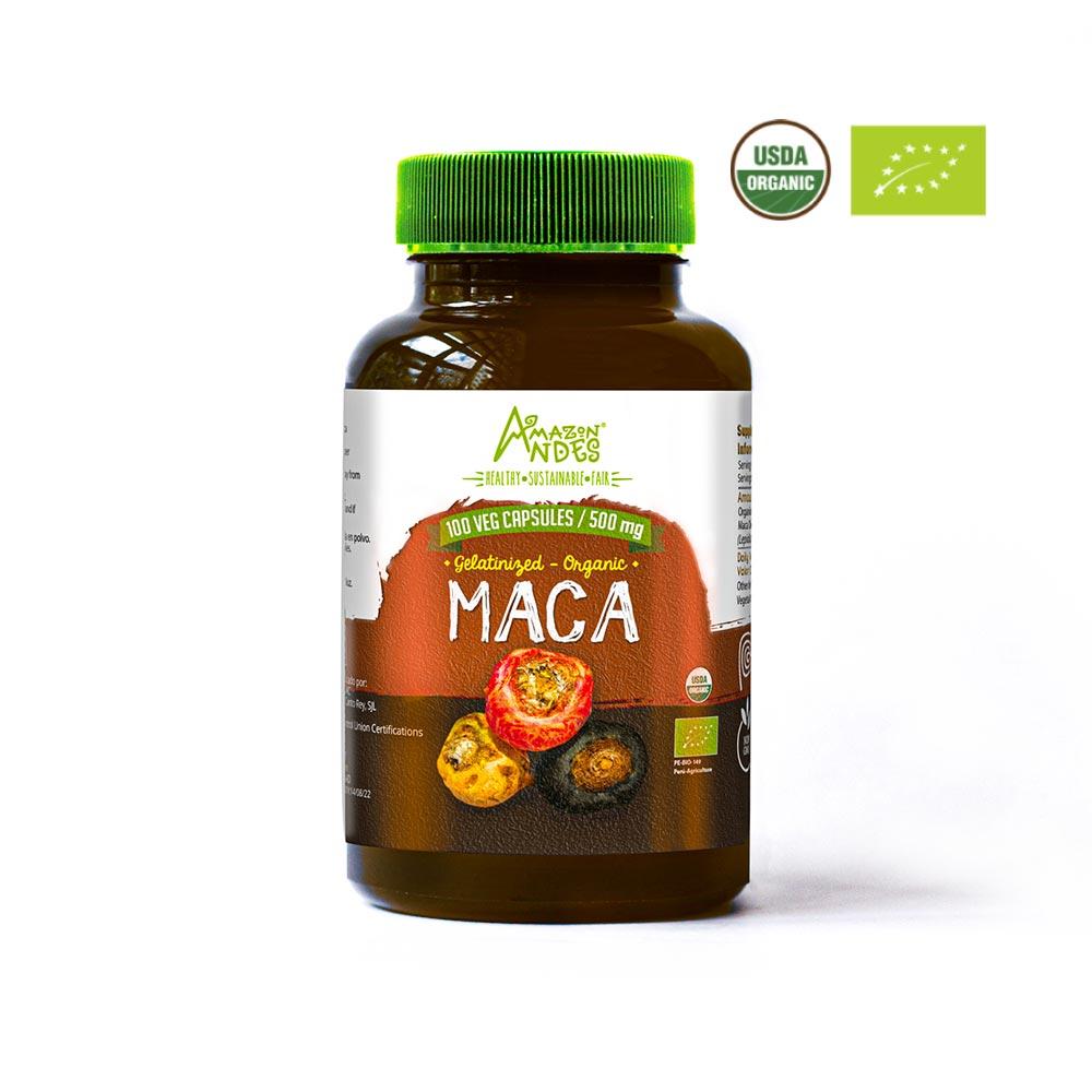 capsulas de maca organica comprar