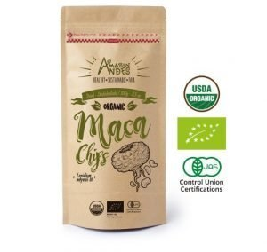 Maca organica en chips comprar snack