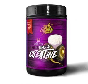 black maca and creatine powder