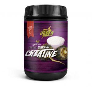 creatine + black maca powder