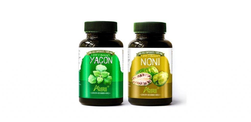 Beat Diabetes pack (Yacon and Noni capsules)