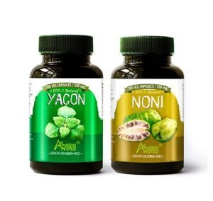 Pack antidiabetes (Yacon y noni cápsulas)