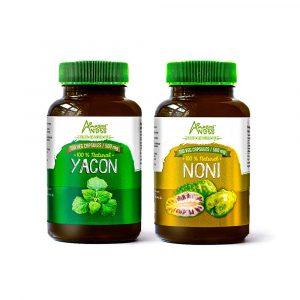 Pack antidiabetes (Yacon y noni cápsulas)