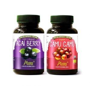 Pack antioxidantes (Cápsulas de acai y camu camu)