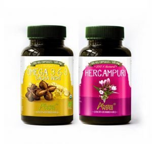 Zero cholesterol pack ( sacha inchi oil and hercampuri capsules)