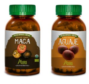 Fertility pack for women (Aguaje and maca capsules)