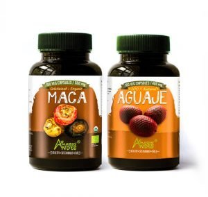 Aguaje and Maca capsules