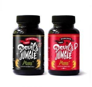 PACK-FUEGO- devils jungle hombre y mujer