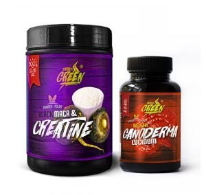 creatine and reishi pack