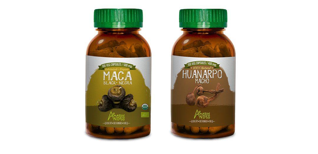 Pack Potencia para hombres ( Maca negra y huanarpo macho en cápsulas)