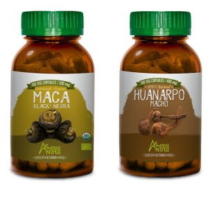 Fertility pack for men (Black Maca and Huanarpo Macho capsules)