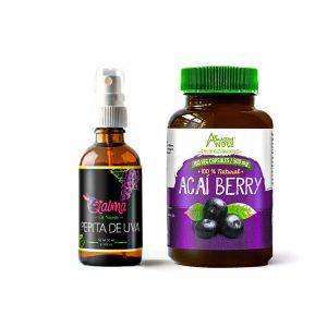 Always young Pack (Grape seed oil and Acai capsules)
