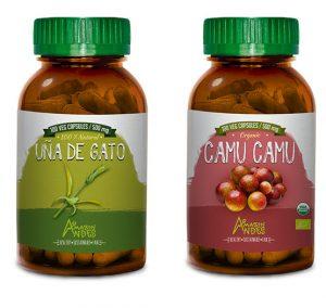 Inmune system pack (Camu camu and Cat's claw capsules)