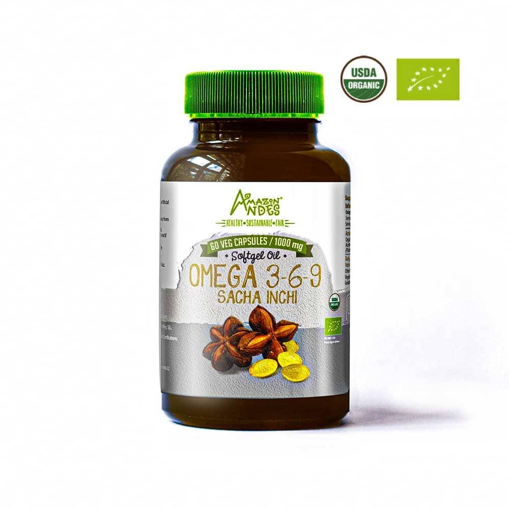 comprar Sacha Inchi capsulas 1000 mg