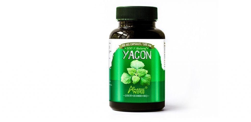 Yacon leaves capsules