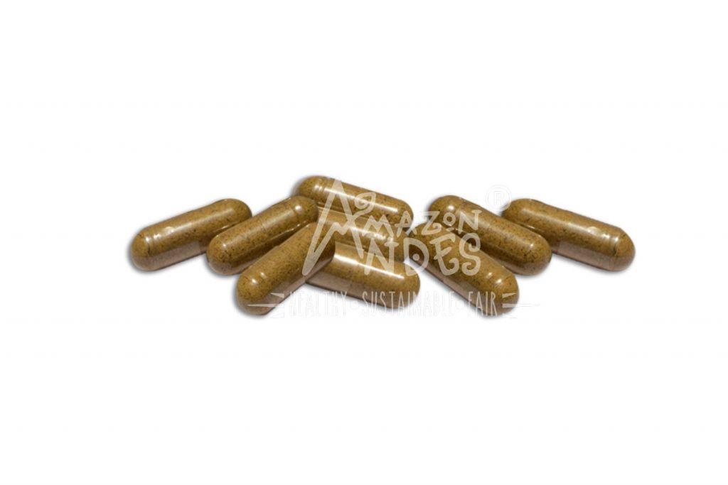 capsula orgánica de maca