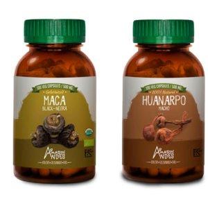 Maca negra + Huanarpo macho capsules